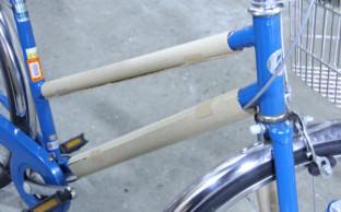 【自転車製造】完成品の保護に