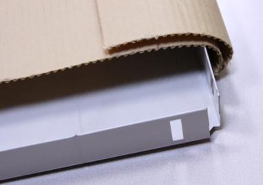 優れた作業性 ~箱に入らない物を自在に梱包~